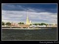 Saint Petersburg from sea
